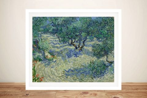 Olive Orchard by Van Gogh Framed Wall Art