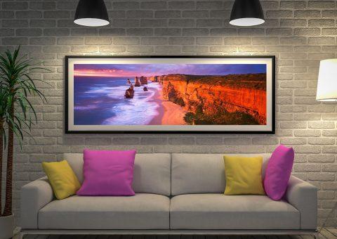 12 Apostles by Peter Lik Cheap Panoramic Artwork