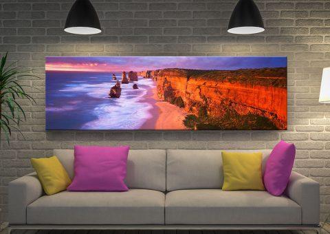 12 Apostles by Peter Lik Framed Panoramic Wall Art