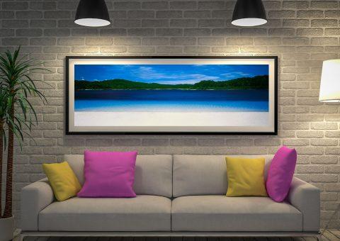 Buy Fraser Island Framed Panoramic Wall Art