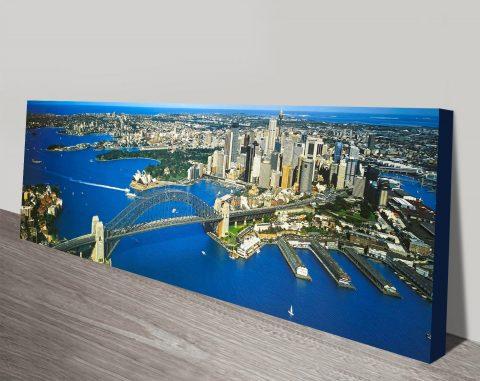 Buy a Sydney Cityscape Peter Lik Canvas Print