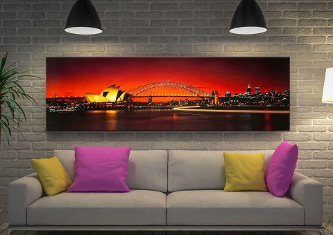 Buy a Peter Lik Sydney Dusk Canvas Print
