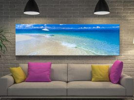 Buy Great Barrier Reef Panoramic Wall Art