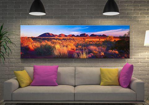 Buy Kata Tjuta Canvas Panoramic Artwork