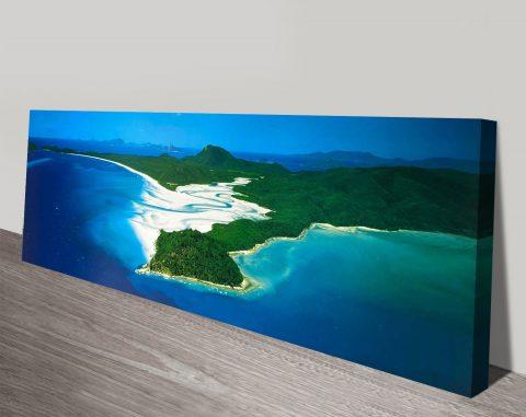 Whitsundays by Peter Lik Panoramic Canvas Art