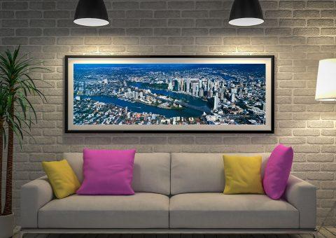 Buy a Peter Lik Panoramic Print of Brisbane