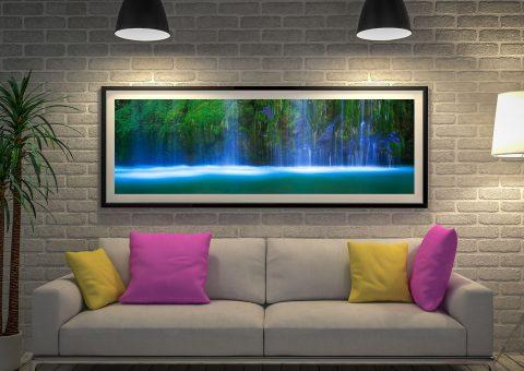 Waterfall Panoramic Print by Peter Lik