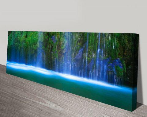 Buy Waterfall Panoramic Canvas Artwork