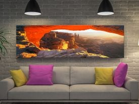 Buy Echoes of Silence Utah Canyon Wall Art