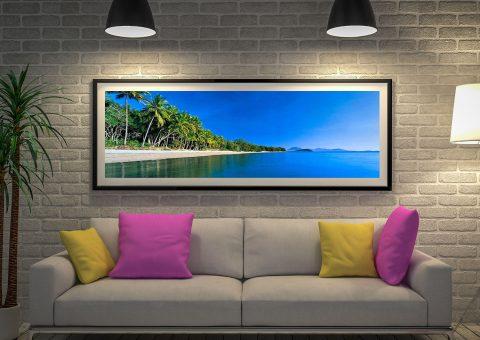 Buy a Framed Port Douglas Canvas Print AU