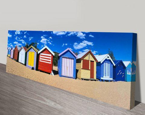 Buy Brighton Beach Ready to Hang Wall Art