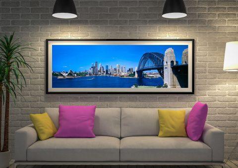 Buy a Panoramic Print of Sydney Harbour Bridge