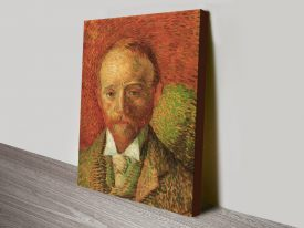 Portrait of the Art-Dealer Alexander Reid by Van Gogh canvas print