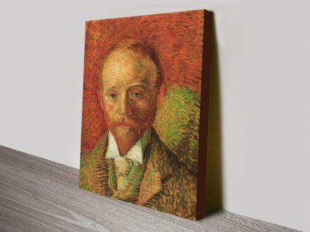 Portrait of the Art-Dealer Alexander Reid by Van Gogh canvas print