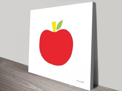 Buy a Red Apple Framed Ann Kelle Print