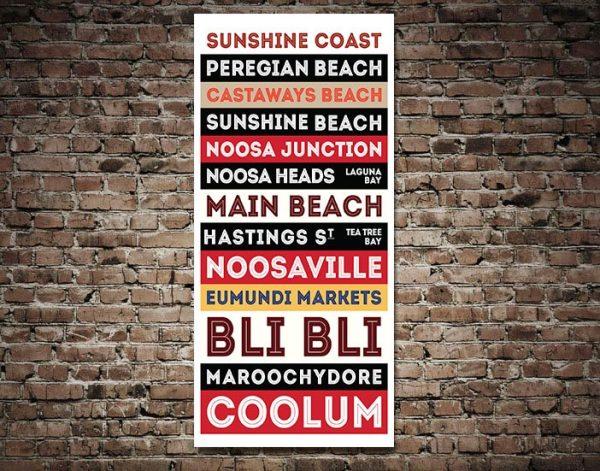 Buy Australian Tram Scroll Wall Art Online