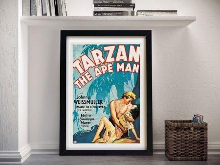 Buy a Tarzan Vintage Movie Poster Print