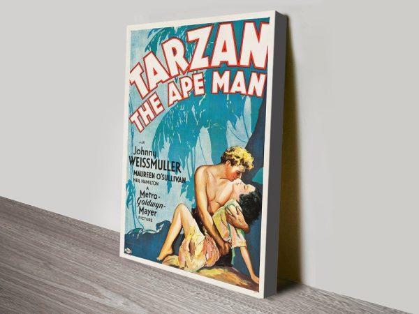 Buy Classic Tarzan Wall Art Great Gift Ideas AU