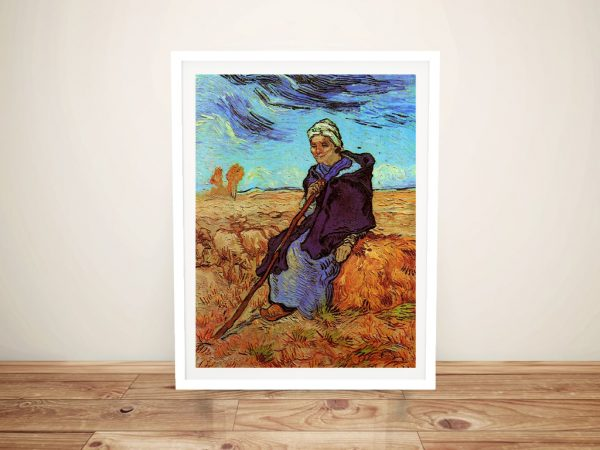Buy a Ready to Hang Print of The Shepherdess