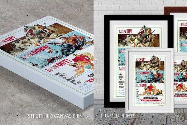 James Bond Movie Poster Quality Print