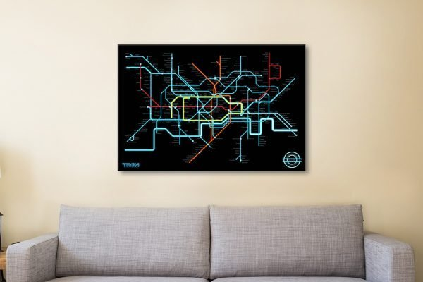 Get a Tron Legacy Movie Poster Print Gift Ideas