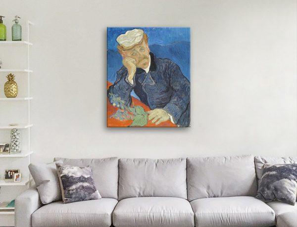 Van Gogh Dr Paul Gachet canvas Artwork