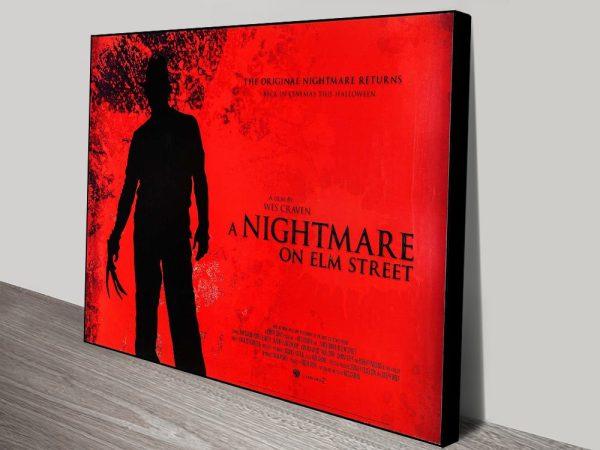 Buy Classic 80's Horror Movie Wall Art Online