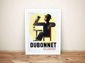 Buy a Dubonnet Vintage Wine Advertising Poster