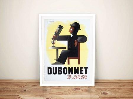 Buy a Dubonnet Vintage Wine Advertising Poster