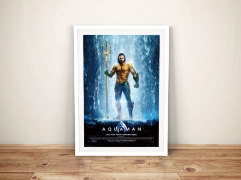 Buy Jason Momoa Aquaman Wall Art Online