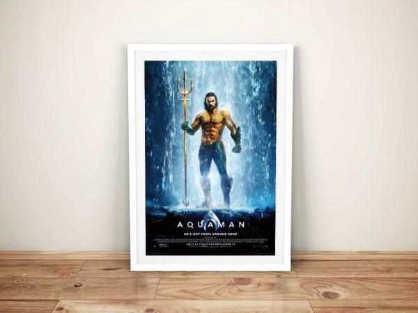 Buy Jason Momoa Aquaman Wall Art Online