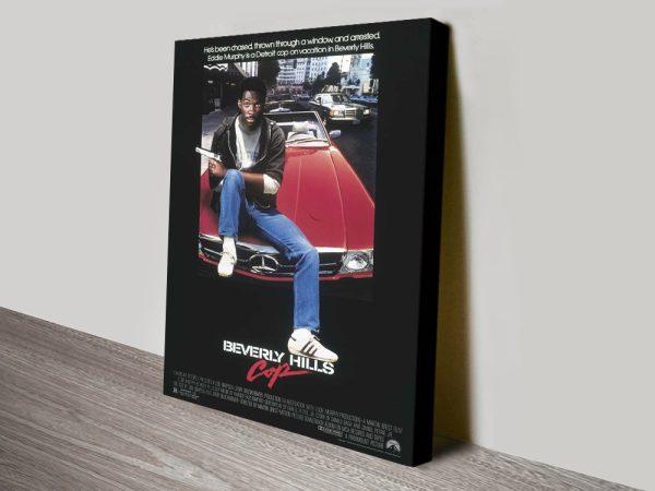 Buy a Retro Beverley Hills Cop Poster Print