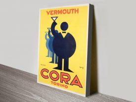 Buy a Cora Vermouth Torina Vintage Poster