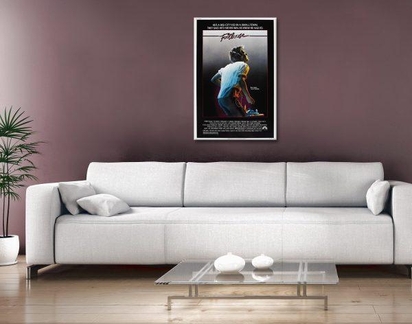 Buy a Footloose Film Promo Poster Print AU