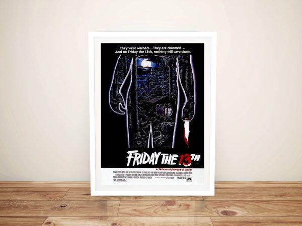 Buy Vintage Slasher Movie Wall Art Online