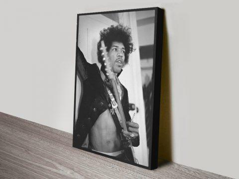 Buy a Ready to Hang Print of Jimi Hendrix