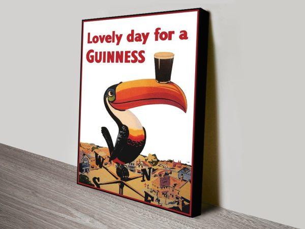 Buy Vintage Guinness Prints Gift Ideas Online