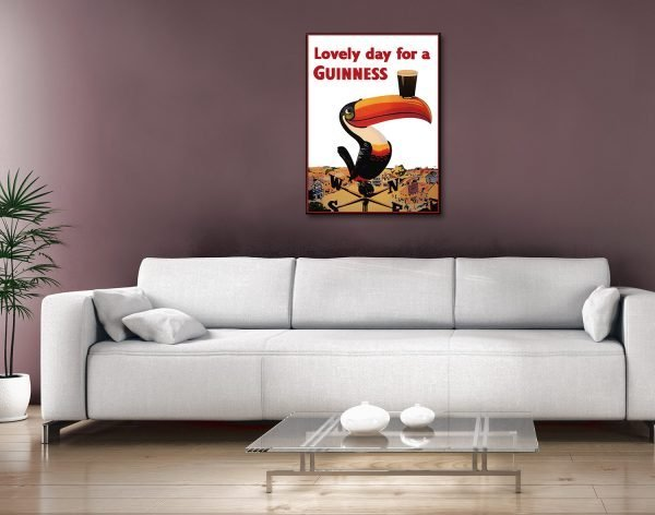 Buy a Ready to Hang Classic Guinness Poster