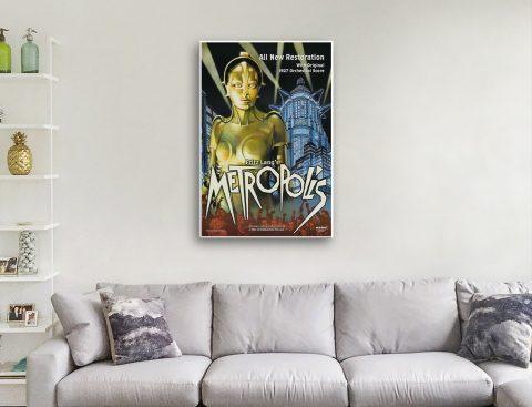 Buy an Affordable Metropolis Vintage Poster