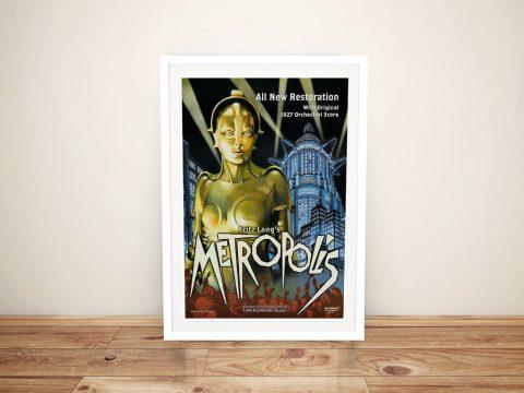 Buy a Metropolis Framed Canvas Movie Poster