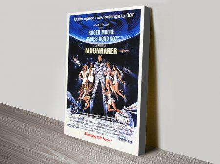 Buy Moonraker Promotional Movie Wall Art