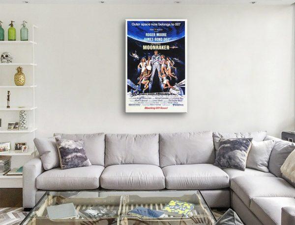 Buy a Ready to Hang Vintage Moonraker Print