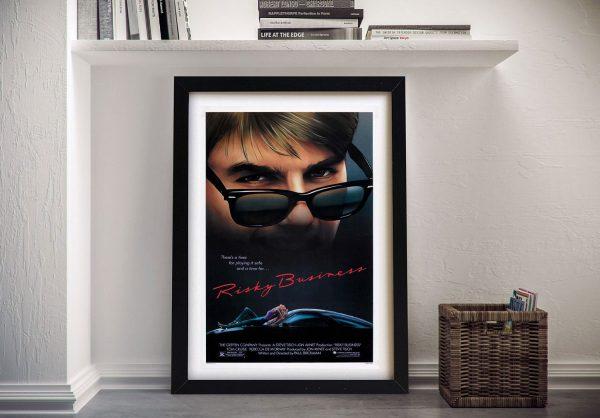 Buy Movie Poster Artwork for Risky Business