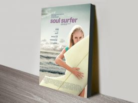 Buy a Soul Surfer Canvas Movie Poster Print