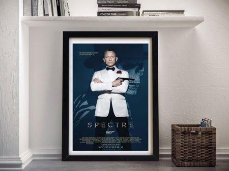 Buy a Daniel Craig Spectre Movie Poster