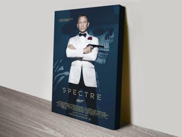 Buy a James Bond Spectre Canvas Print