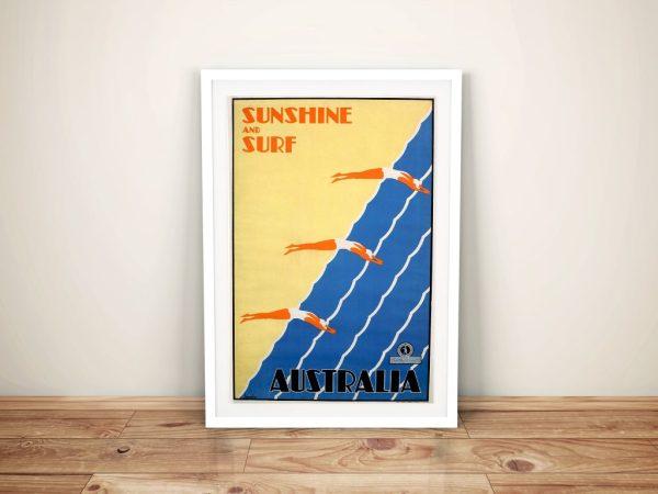 Buy Australian Travel Posters Art Gift Ideas AU