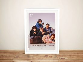 Buy a Breakfast Club Framed Movie Poster