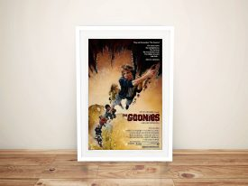 Buy a Canvas Movie Poster for The Goonies
