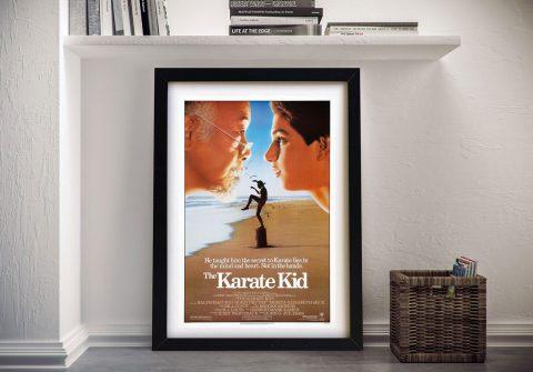 Buy The Karate Kid Retro Movie Wall Art